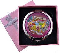 Зеркальце в подарочной упаковке Персидский узор №6960-144-2