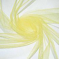 Фатин (американская сетка) блестящ. молочно-желтый ш.280