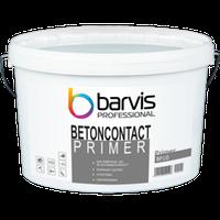 Универсальная пигментированная грунтовка BARVIS Primer Betoncontact 10 л