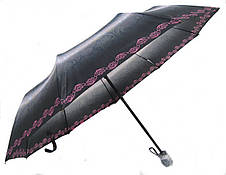 Зонт женский Monsoon полуавтомат 9 спиц MF5326pink зонты женские, фото 2