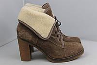 Женские замшевые ботинки Minelli, 38 размер, фото 1
