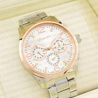 Наручные часы Guardo gold white 1034G-S00121
