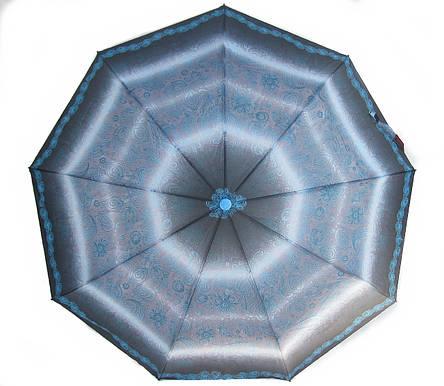 Зонт женский Monsoon полуавтомат 9 спиц MF5326blue зонты женские, фото 2