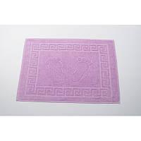 Полотенце для ног/коврик махровый отельный Lotus 50*70 (550 г/м2) лиловый
