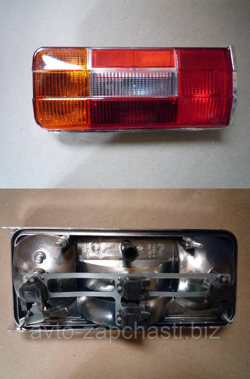 Фонарь задний ВАЗ 2106 (АвтоДеталь) (хром корпус) левый