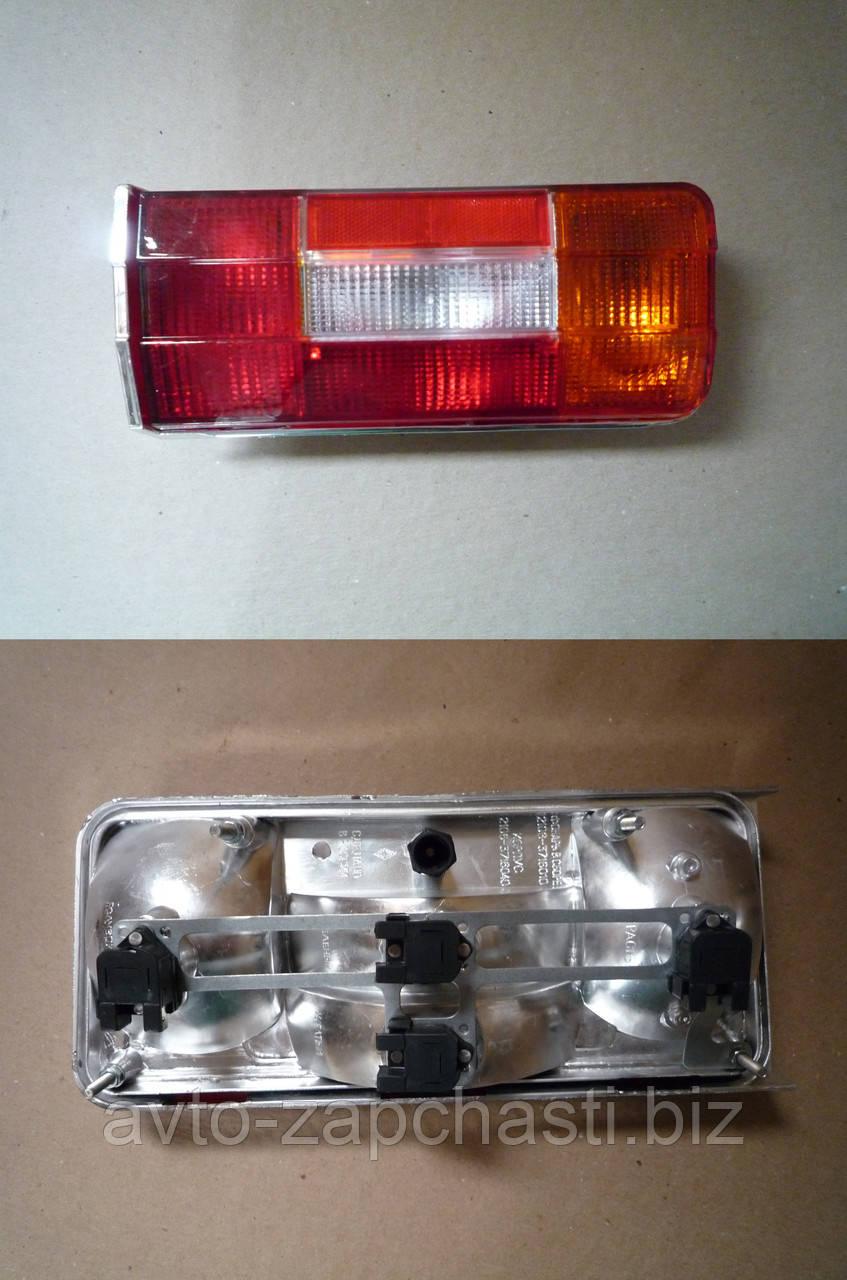 Фонарь задний ВАЗ 2106 (АвтоДеталь) (хром корпус) правый