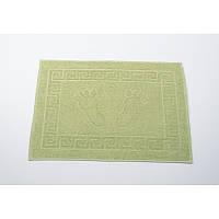 Полотенце для ног/коврик махровый отельный Lotus 50*70 (550 г/м2) оливковый