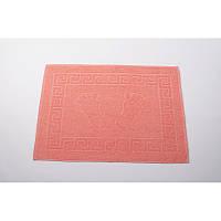 Полотенце для ног/коврик махровый отельный Lotus 50*70 (550 г/м2) оранжевый