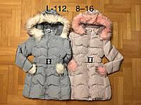Куртки зимние для девочек оптом, F&D, 8-16 рр, фото 1