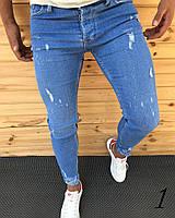 e0f7fd1f91e Турецкие Мужские Джинсы Slim Fit Очень Качественные Made in Turkey Крутые  Приталенные Джинсы