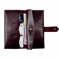 Кошелек Valenta кожаный Бордо (ХР1743321), фото 1