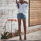 Блузки свободного кроя с открытыми плечами, фото 5