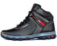 Ботинки мужские зимние отличного качества в стиле Columbia (КБ-10чр)