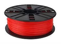 Филамент пластик Gembird (3DP-ABS1.75-01-FR) для 3D-принтера, ABS, 1.75 мм, флуоресцентный красный, 1кг