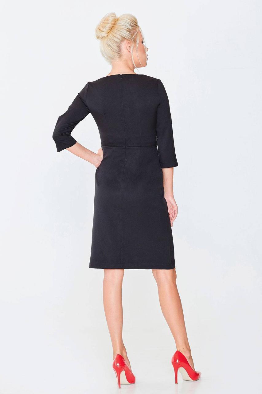 ... Елегантная жіноча чорна сукня ТМ Nenka р.S 310828e345858