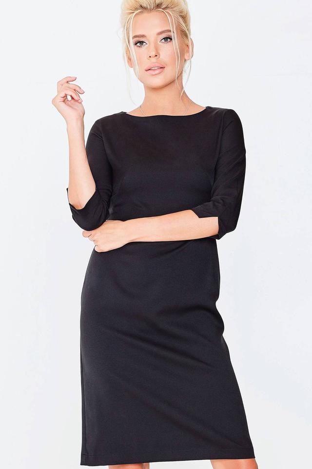 Елегантная жіноча чорна сукня ТМ Nenka р.S a923b31444242
