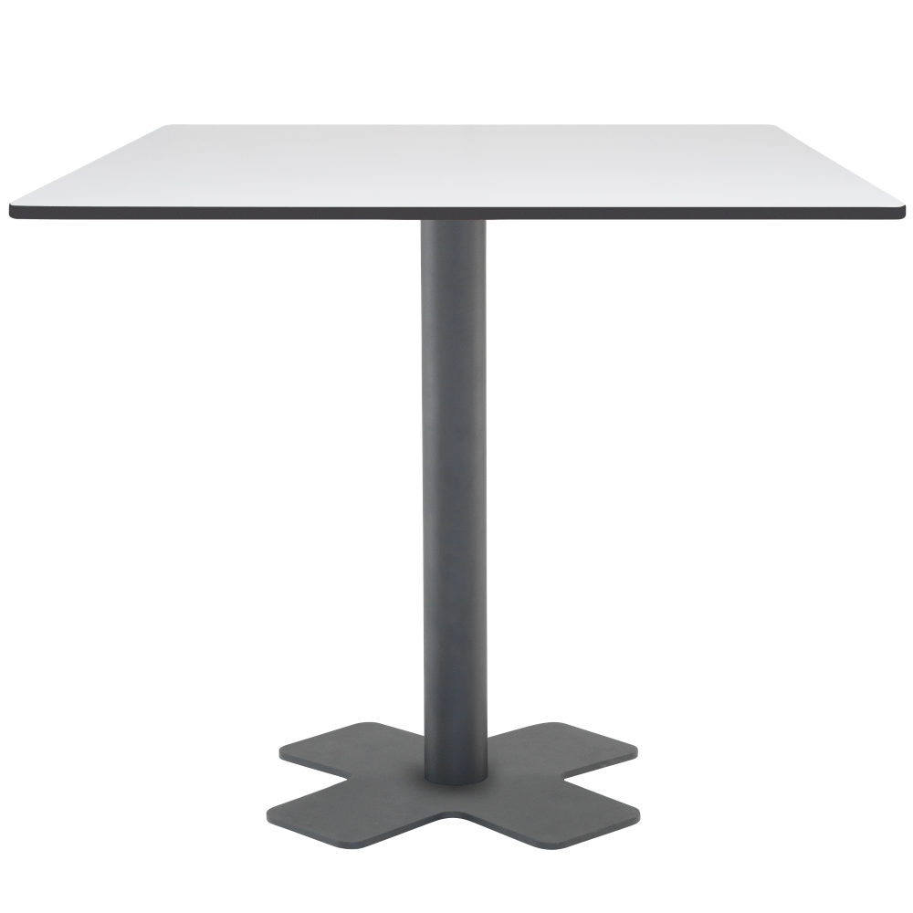 База стола Oxo II 60x60x73 см катафорез матовый антрацит Papatya