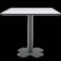 База стола Oxo II 60x60x73 см катафорез матовый антрацит Papatya, фото 1