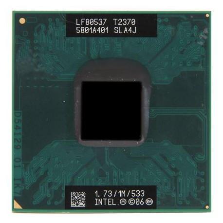 Процессор для ноутбука Intel® Pentium® T2370 1 МБ кэш-памяти,частота 1,73 ГГц, частота системной шины 533