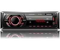Автомагнітола Fantom FP-303 USB/SD 1 Din Black/Red