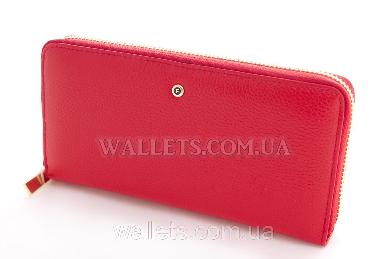 Женский кошелек на молнии кожаный красный - Модная одежда, обувь и  аксессуары интернет-магазин f501bb244d9