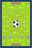 Детский ковер футбольное поле Delta 3640 1