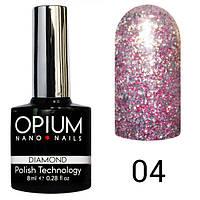 Гель лак Opium Daimond №4 8 мл