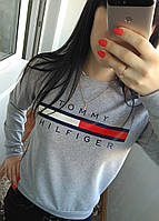 Женская кофта томми хилфигер  (свитер , свитшот ) реплика