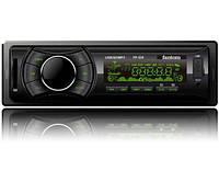 Автомагнітола Fantom FP-335 USB/SD 1 Din Black/Green