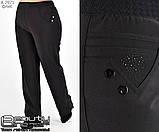 Женские брюки на флисе большого размера 50. 52.54.56.58.60, фото 2