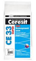 Затирка для швов Ceresit CE-33