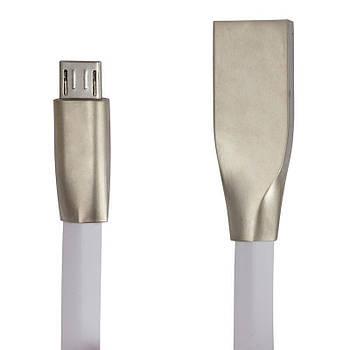 Кабель Greenwave DC-MU-102ZR USB 2.0 - micro USB 1 м, White  круглый (R0014172)
