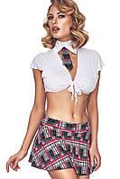 Эротический костюм школьницы Anais Ajsle, S, M, L, XL, XXL, XXXL, фото 1