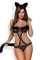 Эротичный костюм гепарда Obsessive Gepardina, S/M, L/XL, XXL, фото 1