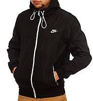 Модная черная ветровка Nike, виндраннер найк