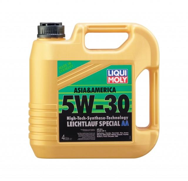 Синтетическое моторное масло Liqui Moly Leichtlauf Special АА 5W-30 4л (1л)