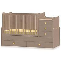 Кроватка-трансформер Bertoni MAXI PLUS (beech) 15230