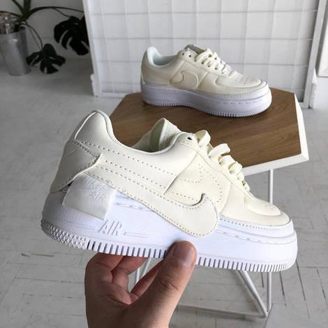 Кроссовки Женские Nike air Force white, найк аир форс белые, реплика