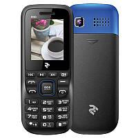 2E E180 Dual Sim Black/Blue (708744071163)
