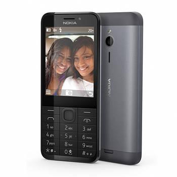 Nokia 230 Dual Sim Dark Silver (A00026971)
