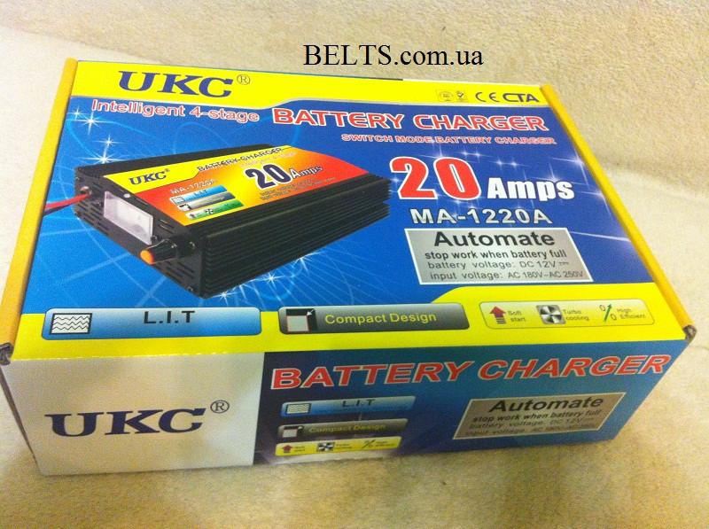 Прибор для зарядки автомобильного аккумулятора 20 А, UKC Battery Charger 20A,  зарядное устройство 12 вольт 20