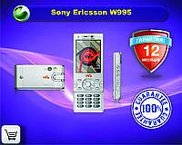 Оригинальный телефон Sony Ericsson W995 silver