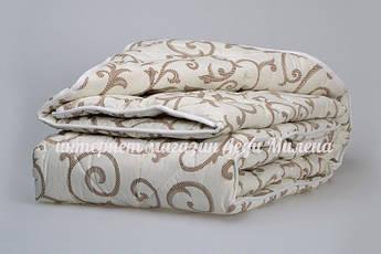 Зимнее одеяло из овечьей шерсти полуторного размера, фото 3