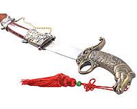 Стильная сувенирная сабля мустанг, фото 1