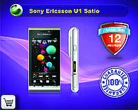 Оригинальный  телефон Sony Ericsson U1 Satio Black