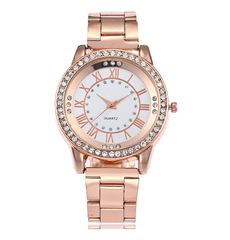 Часы наручные женские розовое золото код 267 - купить по лучшей цене ... 20f546cfd24