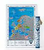 Скретч-карта Европы Discovery Map (ENG) в тубусе