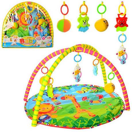 Коврик для младенца 518-17 80-64см