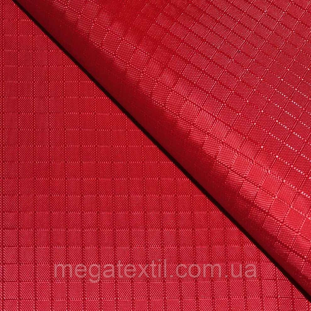 7eee8d0e2249 ПВХ ткань оксфорд рип-стоп красная ш.150 купить оптом и в розницу в ...
