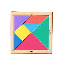 """Игра-головоломка """"Танграм"""" 12 х 12 см."""